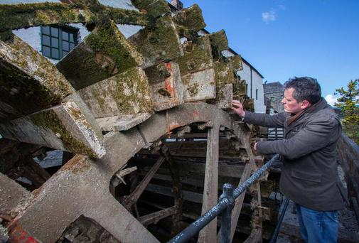 Beam Inc, the new owners of the Kilbeggan Distillery, has announced a Ä70,000 investment to restore the ancient waterwheel at the worldís oldest distillery.