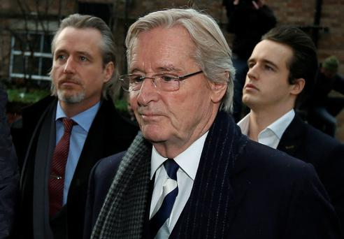 British actor William Roache, who plays the character of Ken Barlow in the soap opera Coronation Street