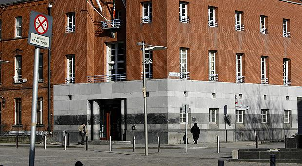The Childrens Court in Smithfield, Dublin