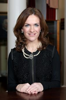 Master of the National Maternity Hospital Dr. Rhona Mahony.