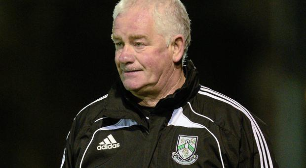Bray Wanderers manager Pat Devlin