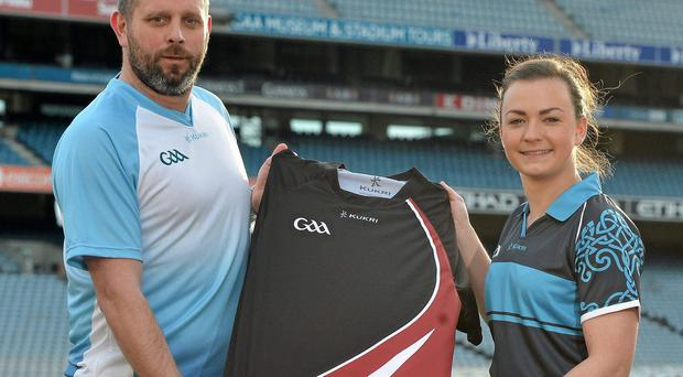 Kukri staff at the announcement of Kukri as the new kit supplier for the GAA in December