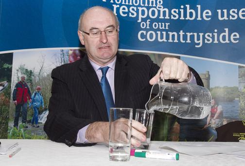 Environment Minister Phil Hogan has insisted that he wants key decisions on tariffs and free allowances made by the end of next week