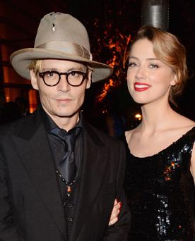 Actors Johnny Depp and Amber Heard are rumoured to be engaged