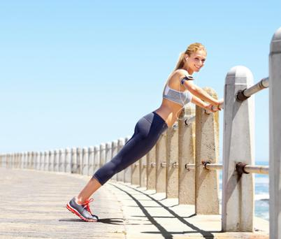 Get your fitness sorted with this year's top ten trends (Photo posed)