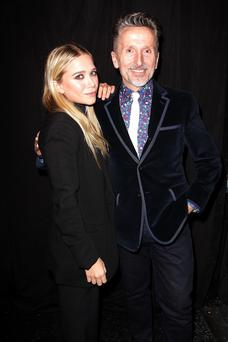 Mary-Kate Olsen and Simon Doonan