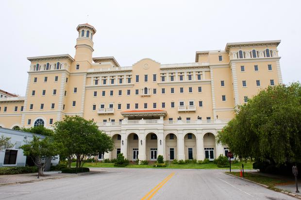 The Church of Scientology's Flag Building in Clearwater, Florida.