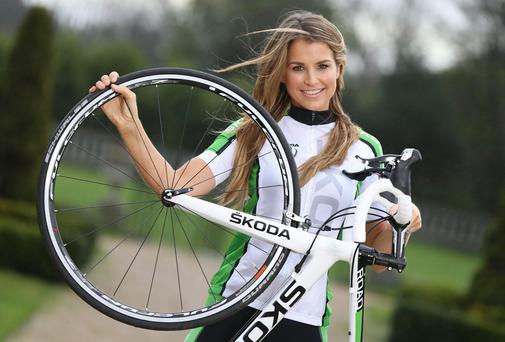 Vogue Williams launched the inaugural KODA Cycle Series, in association with Independent News & Media, with seven events taking place across Ireland this summer.