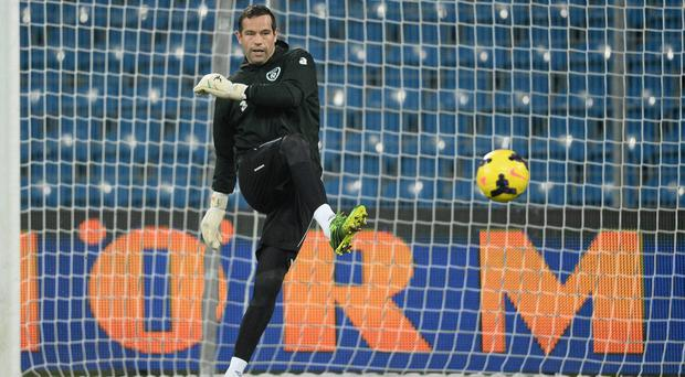 Sunderland are contemplating a move for David Forde