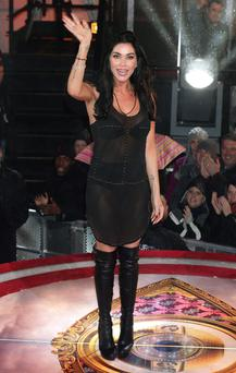 Jasmine Waltz is evicted from the Celebrity Big Brother House