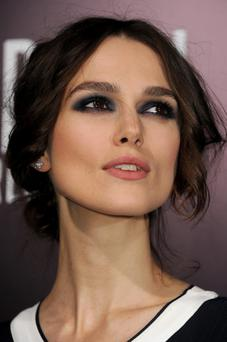 Actress Keira Knightley arrives at the premiere of Paramount Pictures'
