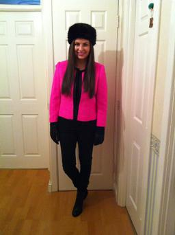 Emily O'Donnell (30) from Leopardstown who wore 365 different outfits