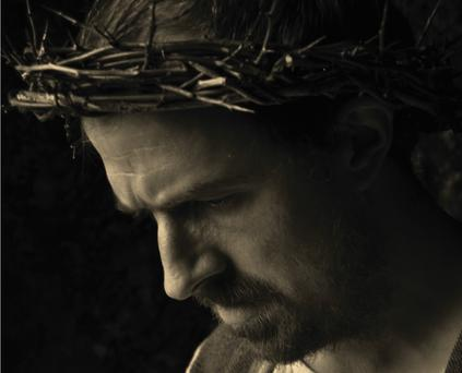 Actor Garry Fraher plays Jesus in the production.