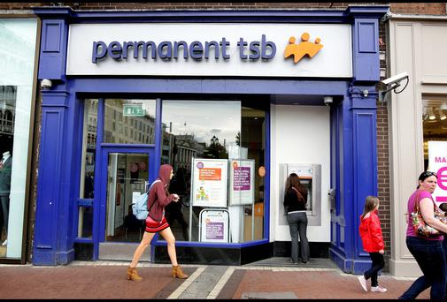 A Permanent TSB branch on St. Stephens Green.