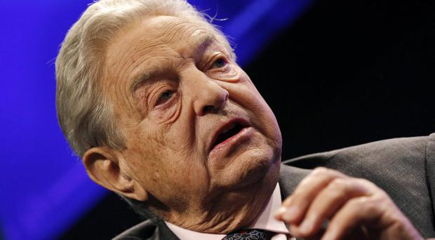 Billionaire financier George Soros. Photo: Reuters