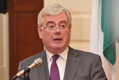 Tanaiste Eamon Gilmore. Photo: Damien Eagers