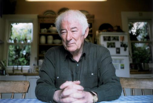 Artist Jackie Nickerson's painting 'Seamus Heaney' Photo: National Gallery of Ireland