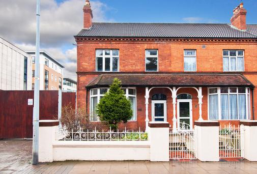 Victorian red brick with off-street parking. 685 South Circular Road, Kilmainham, Dublin 8