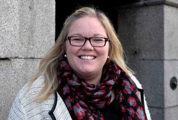 Ciara Conway, Labour deputy for Waterford at Leinster House. Photo: Tom Burke