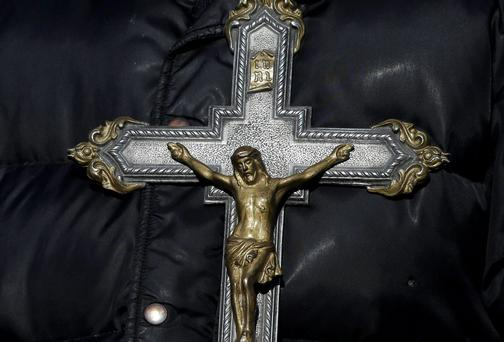 Religious freedom? Gazan law forbids public displays of crucifixes