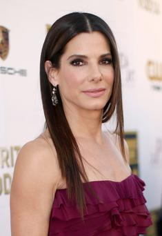 Actress Sandra Bullock attends the 19th Annual Critics' Choice Movie Awards at Barker Hangar on January 16, 2014 in Santa Monica, California. (Photo by Christopher Polk/Getty Images)