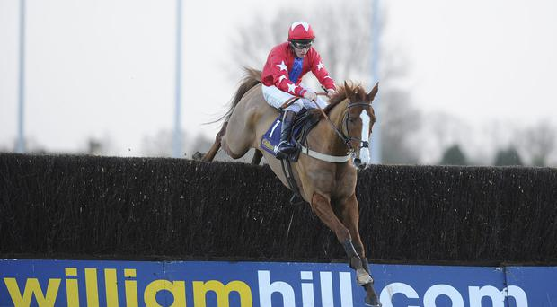 Jamie Moore will be hoping to partner Sire De Grugy to victory today