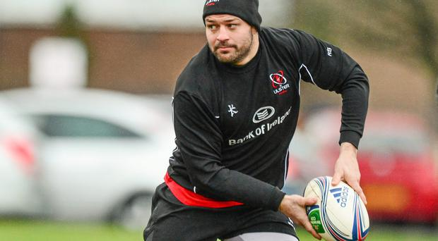 Rory Best will make his 150th appearance for Ulster against Leicester at Welford Road today
