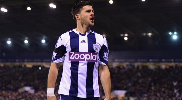 Shane Long completed his move from West Bromwich Albion to Hull City yesterday