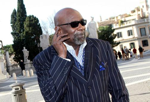 Chris Gardner, author of the autobiographical 'The Pursuit of Happyness'