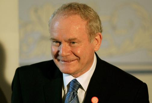 Northern Ireland's deputy first minister Martin McGuinness. Photo: Reuters