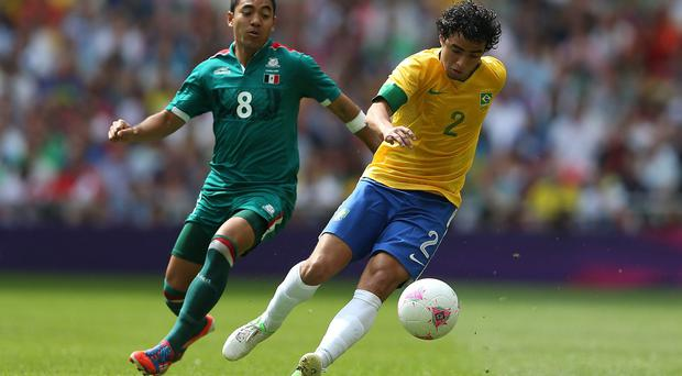 Rafael, who played for Brazil during the London 2012 Olympics, has considered switching nationalities to English