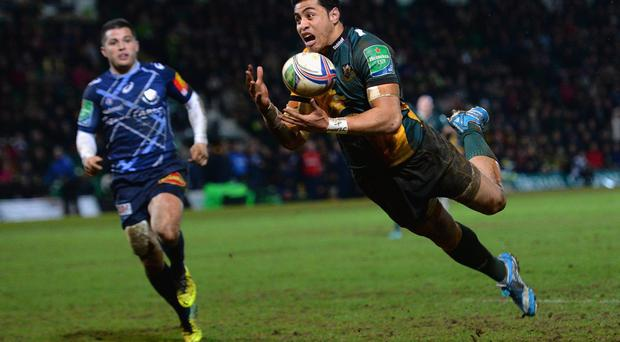 George Pisi of Northampton Saints