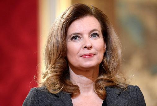 FRENCH DRESSING: First Lady Valerie Trierweiler and actress Julie Gayet are in an alleged love triangle