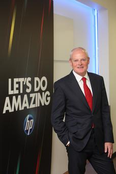 Martin Murphy, CEO of HP. Photo: Jason Clarke.