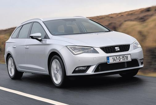 ONE TO TURN YOUNG HEADS: the sporty, stylish and practical Seat Leon Sport Tourer