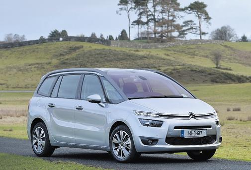 SCHOOL RUN: new Grand Picasso brimming with technology