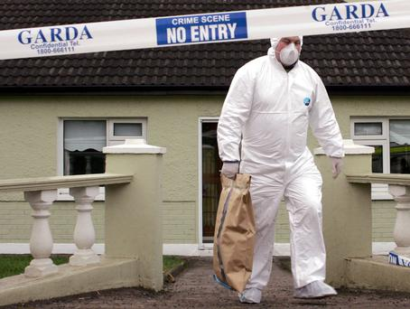 The Northern Bank raid sparked investigations around Ireland, including this one in Cork
