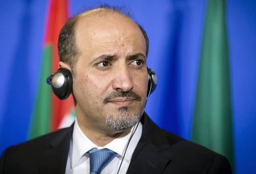 The President of the National Coalition for Syrian Revolutionary and Opposition Forces (SNC) Ahmad al-Assi al-Jarba