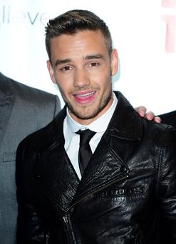 One Direction band member Liam Payne