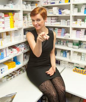 Actavis used TV doctor Pixie McKenna to promote its generic drugs last year