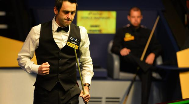 Ronnie O'Sullivan, who picked up a fifth Master's title