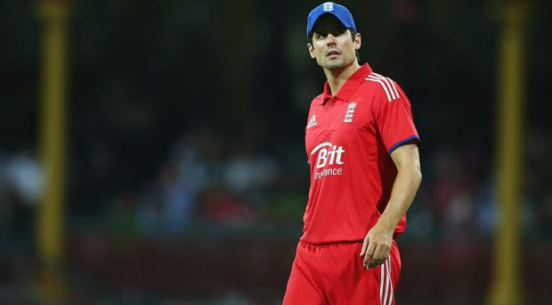 Alastair Cook who is considering retiring as England captain