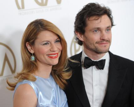 Actress Claire Danes and Hugh Dancy Images)