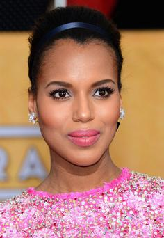 LOS ANGELES, CA - JANUARY 18: Actress Kerry Washington attends the 20th Annual Screen Actors Guild Awards at The Shrine Auditorium on January 18, 2014 in Los Angeles, California. (Photo by Ethan Miller/Getty Images)