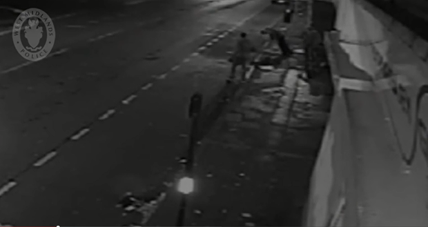 Screengrab from the CCTV footage release by police