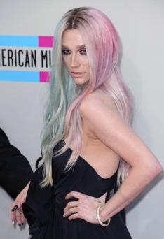 Singer Ke$ha attends the 2013 American Music Awards