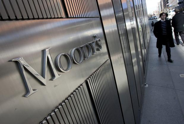 While Moody's is generally optimistic about Ireland's prospects, the rating agency also sees dark clouds.