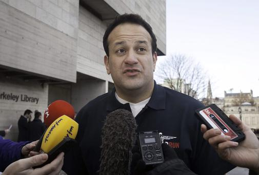 Minister for Transport, Tourism & Sport Leo Varadkar