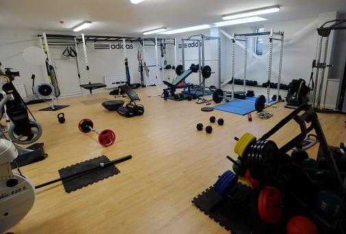 1st floor gym at Bray Boxing Club, Bray Co. Wicklow. Picture: Caroline Quinn