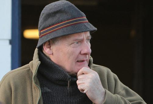 Well known actor Gerard McSorley as he left Letterkenny District Court. (NewspixIrl)